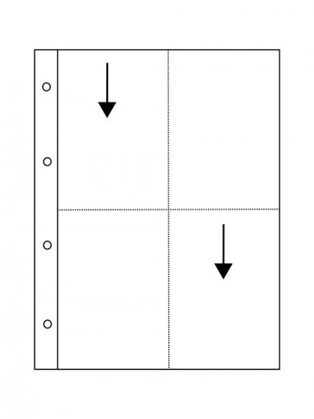 Glassine pages VISTA - 10x15