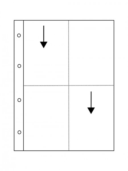 Pergaminhüllen VISTA - 10 x 15