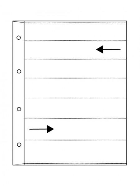 Glassine pages VISTA - negative preserver