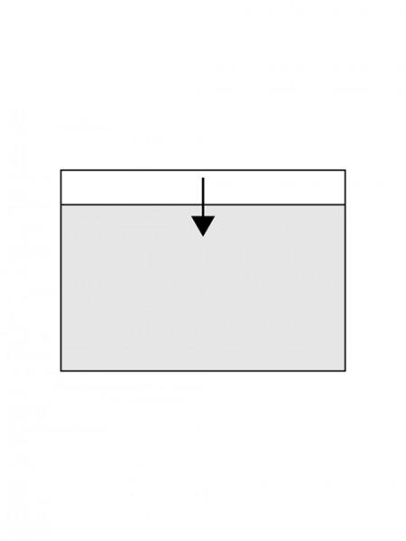 Clear cover cards CHRONOLUX - 1 strip 20 x 12,3