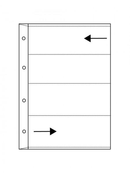 Glassine pages VISTA - roll film 6 x 6