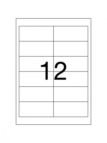 Labels HERMA - 9,7 x 4,2 cm