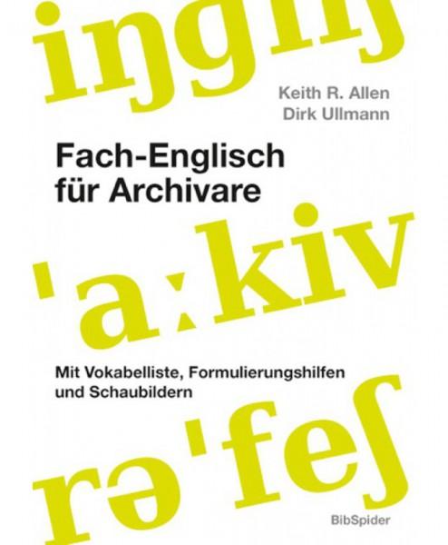 Fach-Englisch für Archivare