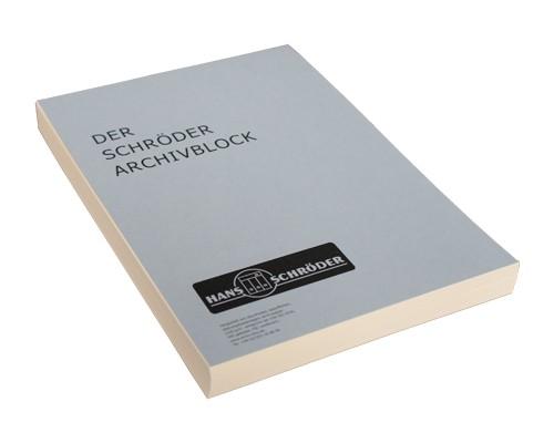 Archival notepad SCHRÖDER