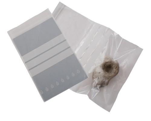 Sachet plastique à fermeture zip 80 x 120