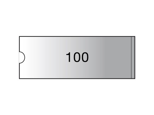 3L Label holders - 55 x 150 mm