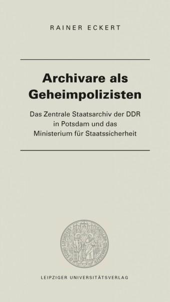 Archivare als Geheimpolizisten
