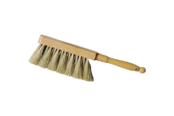 Horse-hair hand brush