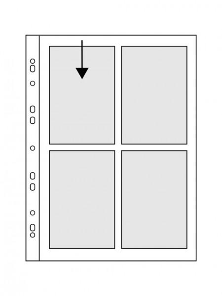 Hülle PANORAMA - 10x15, DIN A6, Postkarten