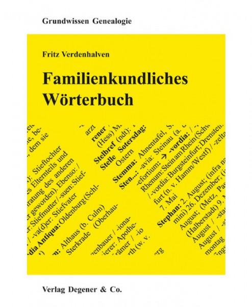 Familienkundliches Wörterbuch