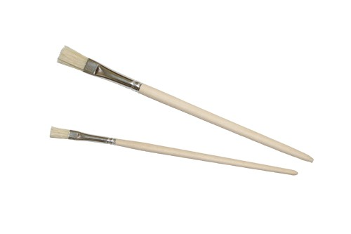 Kaltleimpinsel - Flachborsten - 7 mm