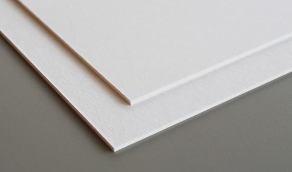 Hahnemühle carton passe-partout 1,5 mm - blanc brillant