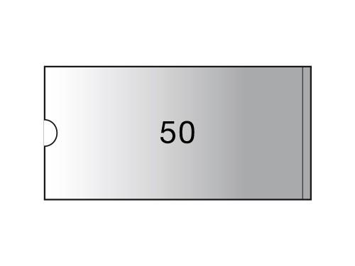 3L Porte-étiquettes - 75 x 150