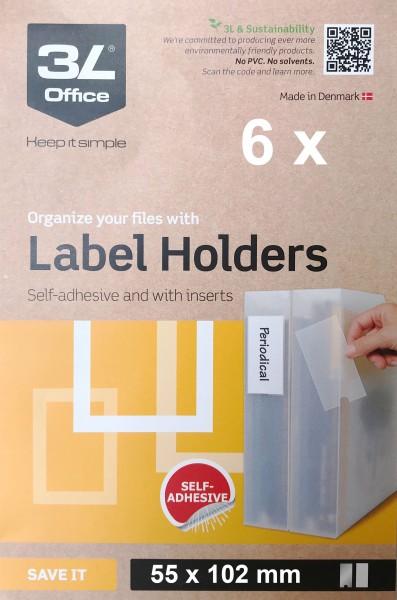 3L Porte-étiquettes - 55 x 102