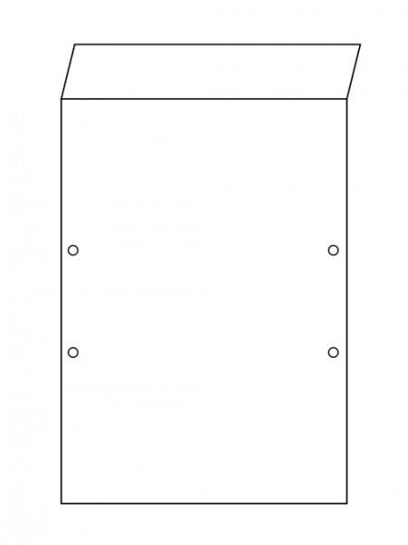 Backing cardboard - Premium Plus 450 DIN A4 with flap