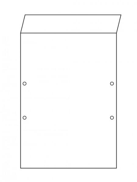 Abdeckpappe - Premium Plus 450 DIN A4 mit Beschriftungsklappe