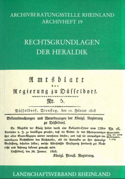 Rechtsgrundlagen der Heraldik