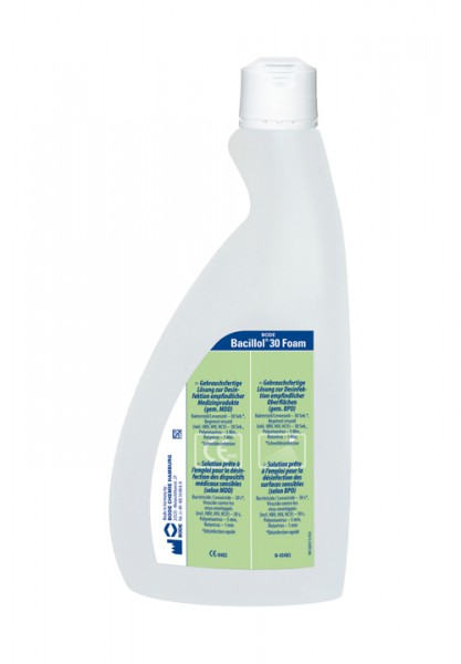 Bacillol® 30 Disinfectant-cleaner surfaces