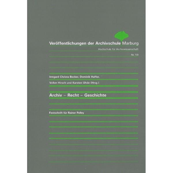 Archiv-Recht-Geschichte