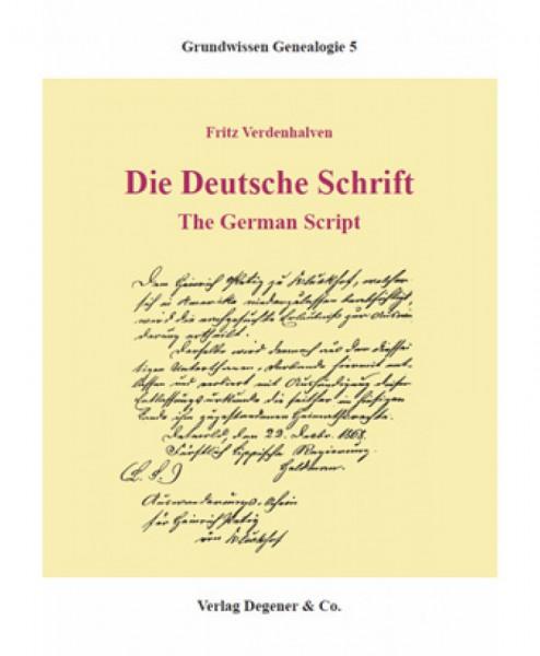 Die Deutsche Schrift - The German Script