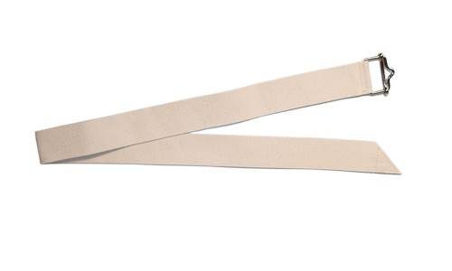 Document belt XL - 4 x 90 cm, natural white