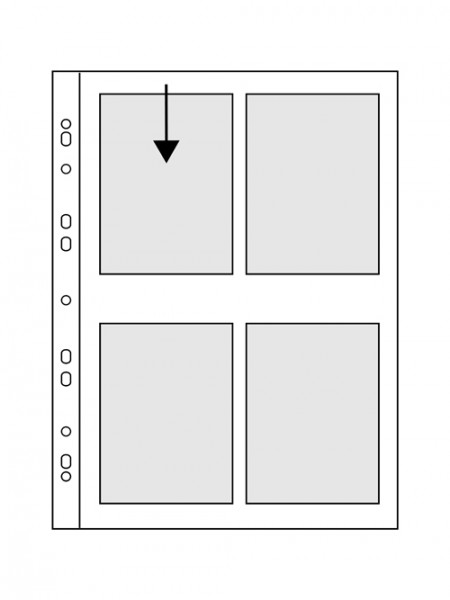 Hülle PANORAMA - 9 x 13