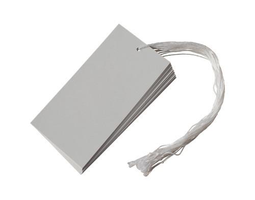 Etiquettes carton à fil - 12 x 6